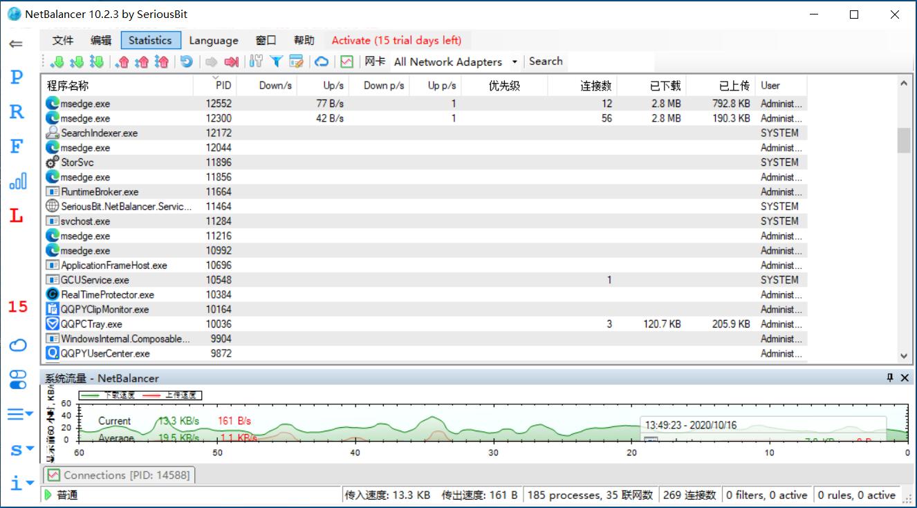 网络流量监控软件中文版(v10.2.3.2480)